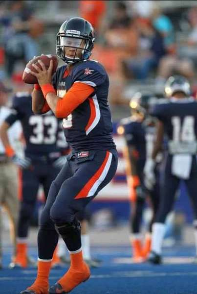 Chaminade quarterback Brad Kaaya looks to throw the ball.