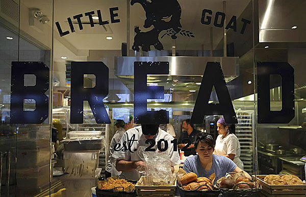 Knead to know: That officials from the French Market have announced that Little Goat Bread is set to open in the market on June 7.