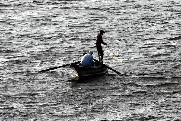 "A fisherman casts a net in the Nile in Cairo. In Ethiopia, where a dam project has sparked tensions with Egypt, the minister for water resources, Alemayehu Tegenu, said, ""We do not have any plan to harm downstream countries."""