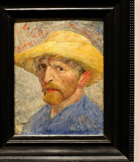 Van Gogh,  Self-Portrait.