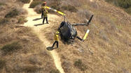 Emergency crews are responding to a helicopter that crashed in Griffith Park, Los Angeles Fire Department officials said.