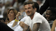 International soccer star and Armani model David Beckham is looking to spice up the South Florida soccer market.
