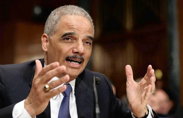 Atty. Gen. Eric H. Holder Jr. testifies on Capitol Hill on Thursday.