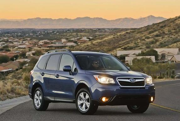 The 2014 Subaru Forester crossover starts at $22,820. The compact crossover has been a staple for Subaru since the company introduced it to the U.S. market in 1998.