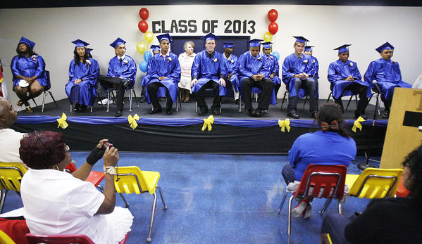 The graduation and culmination ceremony at Tobinworld in Glendale on Thursday, June 6, 2013. Nine students graduated, and six students culminated.