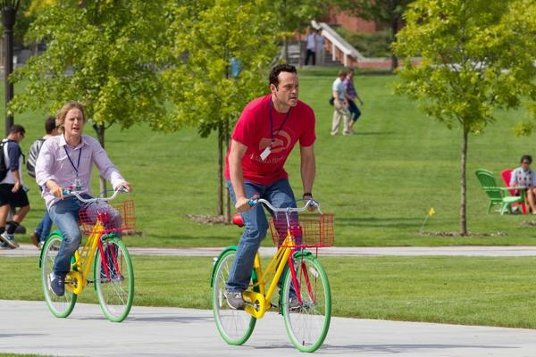 """""""The Internship,"""" with Vince Vaughn and Owen Wilson, may need a big search engine to find box-office success."""