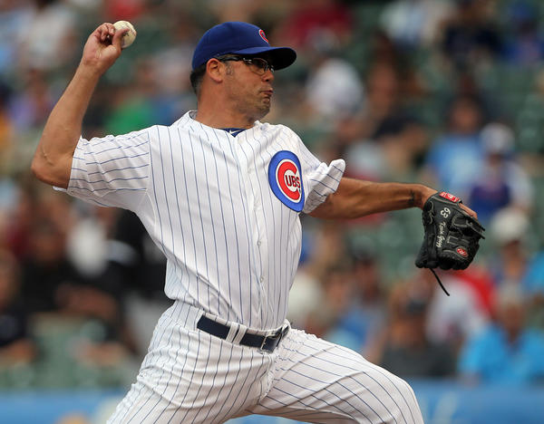 Cubs reliever Kevin Gregg. (Brian Cassella/Tribune photo)