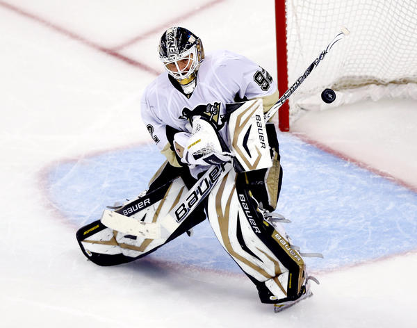 Penguins goaltender Tomas Vokoun. (Jared Wickerham/Getty photo)