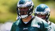 PHILADELPHIA — In coach Chip Kelly's world, less is more, and so it goes for the Philadelphia Eagles' first-team offensive linemen, who unexpectedly were able to get some quality work time together in this spring's final minicamp, which concluded Thursday at the NovaCare Complex.