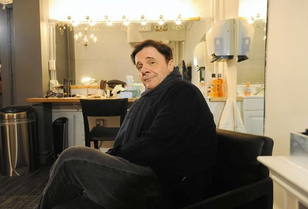 "Actor Nathan Lane in his dressing room at the Lyceum Theater, where he is starring in ""The Nance"" in Manhattan."