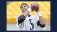 PITTSBURGH (AP) — Bruce Gradkowski knew exactly what he was getting into when he signed to be the backup quarterback for the Steelers.