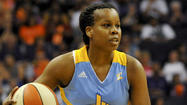 Guard Epiphanny Prince, who has left the Chicago Sky for a month to fulfill a commitment to the Russian national team, sprained her ankle in a game against China Thursday in Karlovy Vary, Czech Republic.