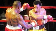 What started out as a golden night and the debut of boxing at SteelStacks in Bethlehem turned out as a night of bitter disappointment for the grandson of former heavyweight champion Larry Holmes.