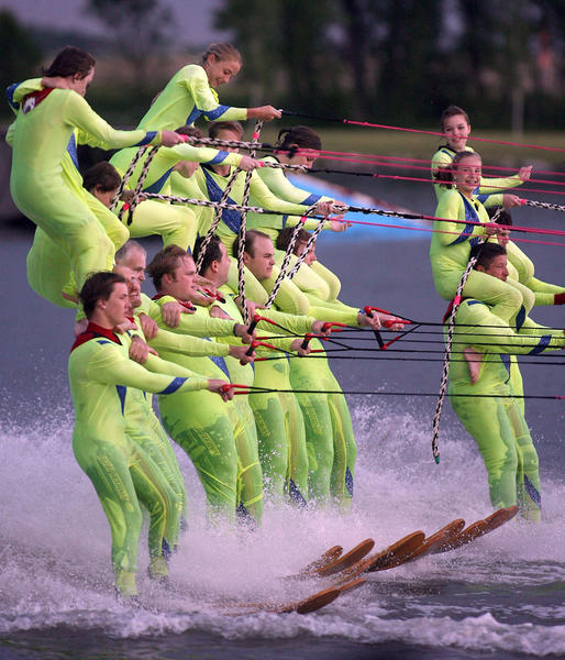 The Aberdeen Aqua Addicts Ski Team have been entertaining crowds for years.
