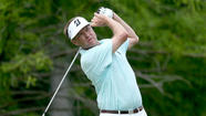 Davis Love III and Stuart Appleby shot four-under-par 66 on Thursday for a share of the lead with four other players after the first round of the St. Jude Classic at Memphis, Tenn.