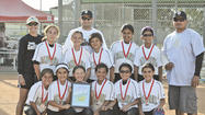 The Team California-Fogball under-10 softball team