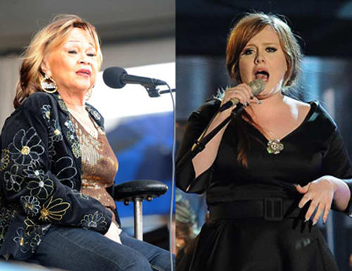 Etta James and Adele