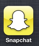 Snapchat's new logo features a face-less ghost.