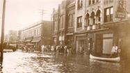 Anybody worried about the impact of the wind, waves and rain that will be spawned by Tropical Storm Andrea this weekend should take time off to check out some of the archival photographs on view in a new Hampton History Museum exhibit.