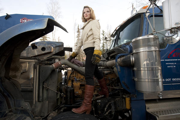 "Lisa Kelly is a star of History's ""Ice Road Truckers."""