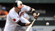 ST. PETERSBUG, Fla. -- The Orioles optioned catcher Chris Snyder to Triple-A Norfolk, the club announced on Friday.
