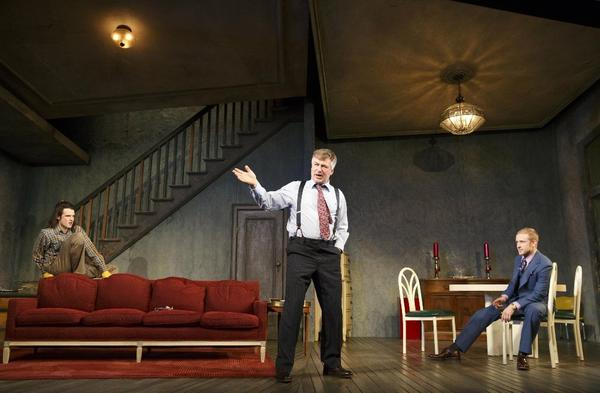 """Orphans, "" at the Gerald Schoenfeld Theatre in New York."