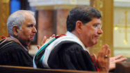 Calvert Hall president steps down