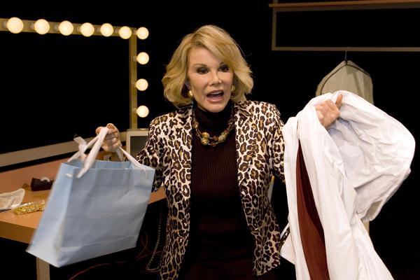 Joan Rivers at the Magic Theatre Company in San Francisco in 2007.