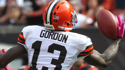 Browns WR Josh Gordon suspended for Ravens' second game