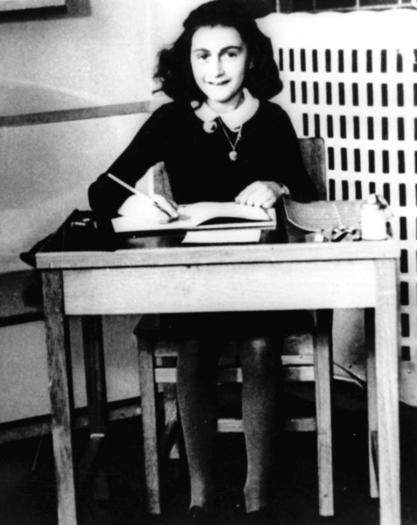 Anne Frank, writing