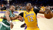 Dwight Howard won't make his decision as a free agent  until July -- to be [the Lakers] or not to be [the Houston Rockets, Dallas Mavericks, Atlanta Hawks or any other number of suitors].