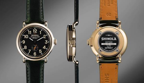 Shinola comes back to life as a watch brand