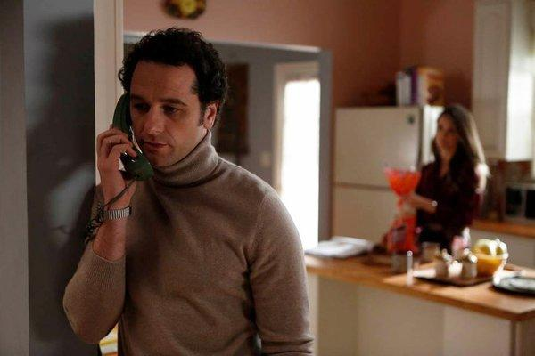 "Matthew Rhys, star of FX's ""The Americans,"" will be picking up the phone for a live chat with us on Tuesday."