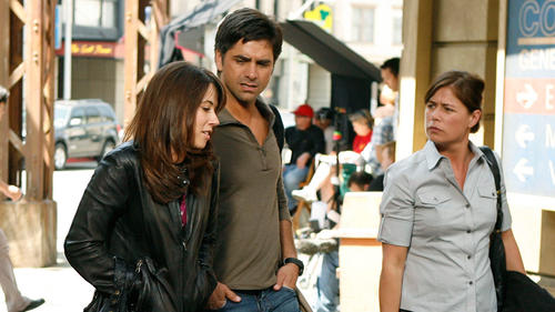 Maura Tierney and john stamos