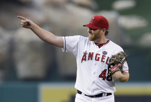Angels' Tommy Hanson will start Game 1 of Saturday's doubleheader.
