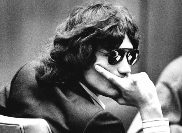 Richard Ramirez, convicted as the Night Stalker killer whose crimes transfixed millions, glances around the courtroom during testimony at a 1989 hearing. He spent more than two decades on death row.