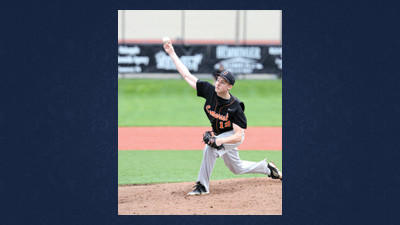 Somerset's Ian Stiffler was selected by the Atlanta Braves in the seventh round of the Major League Baseball draft on Friday.