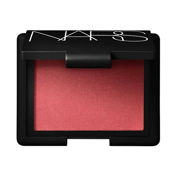 Add a pop of color. NARS Blush in Torrid, $29 at Sephora and www.narscosmetics.com.