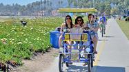 Family time in Santa Barbara