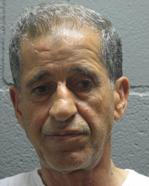 Booking photo of Ata Yousef El Ammouri, suspect in a 1979 slaying in Chicago.