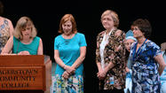 If you want to know what working with hundreds of students challenged with various developmental or learning disabilities over the past three to four decades has meant to Nina Clopper, Betty Schriver and Margie Wolverton, you just had to see them on stage at a recent graduation.