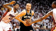 MIAMI — Stretching his legs, Manu Ginobili grimaced a little.