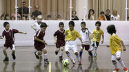 Photo Gallery: Indoor soccer rink opens at Glendale Civic Auditorium