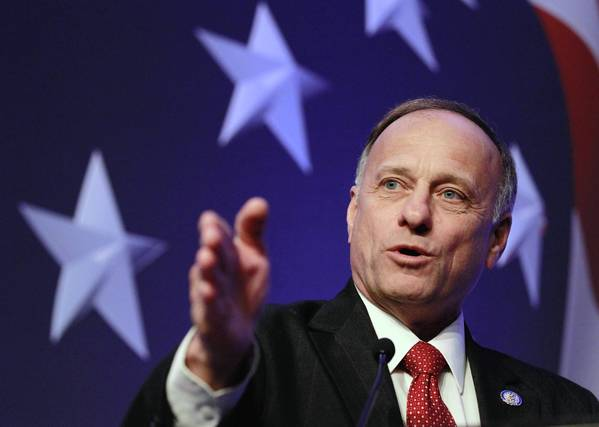 Rep. Steve King (R-Iowa) has stirred a sharp debate with his proposal to block California from rejecting eggs from states that don't meet its voter-approved rules on the humane treatment of hens.
