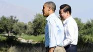 "RANCHO MIRAGE, Calif. — President Obama and his Chinese counterpart, Xi Jinping, wrapped up a summit at this sweltering California desert resort Saturday after nearly eight hours of talks over two days and a candle-lit dinner aimed at shaping what both leaders called a ""new model"" of future relations."