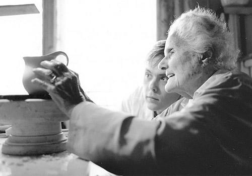Eva Zeisel was a ceramic artist and designer known for her tablewa