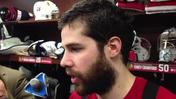 Video: Goalie Crawford on Saturday's win