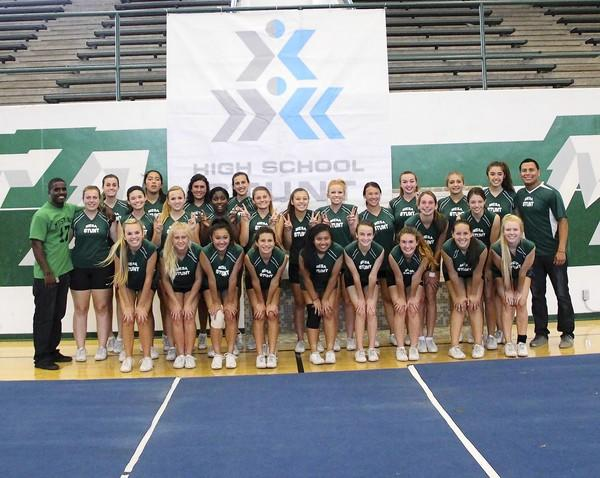 The Costa Mesa High STUNT team completed an undefeated season in its inaugural year.