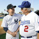 Billy Crystal, Tom Lasorda