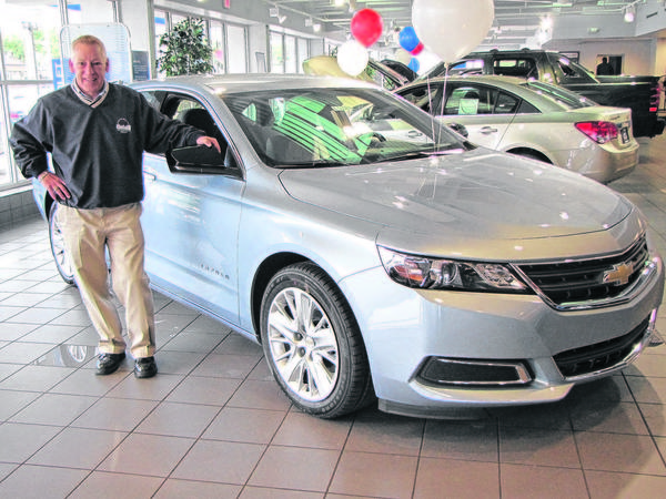 The new 2014 Chevy Impala should have wide appeal, thanks to its combination of style and performance, said Neil Matheison, a sales consultant with Gates Chevy World in Mishawaka.